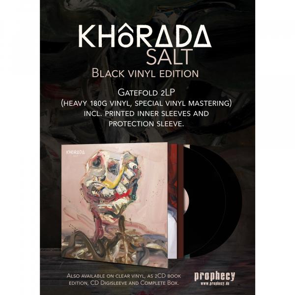 Khôrada - Salt Vinyl 2-LP Gatefold   Black