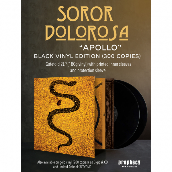Soror Dolorosa - Apollo Vinyl 2-LP Gatefold | black