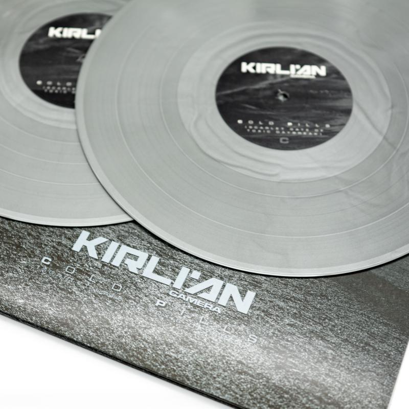 Kirlian Camera - Cold Pills (Scarlet Gate of Toxic Daybreak) Vinyl 2-LP Gatefold     Silver