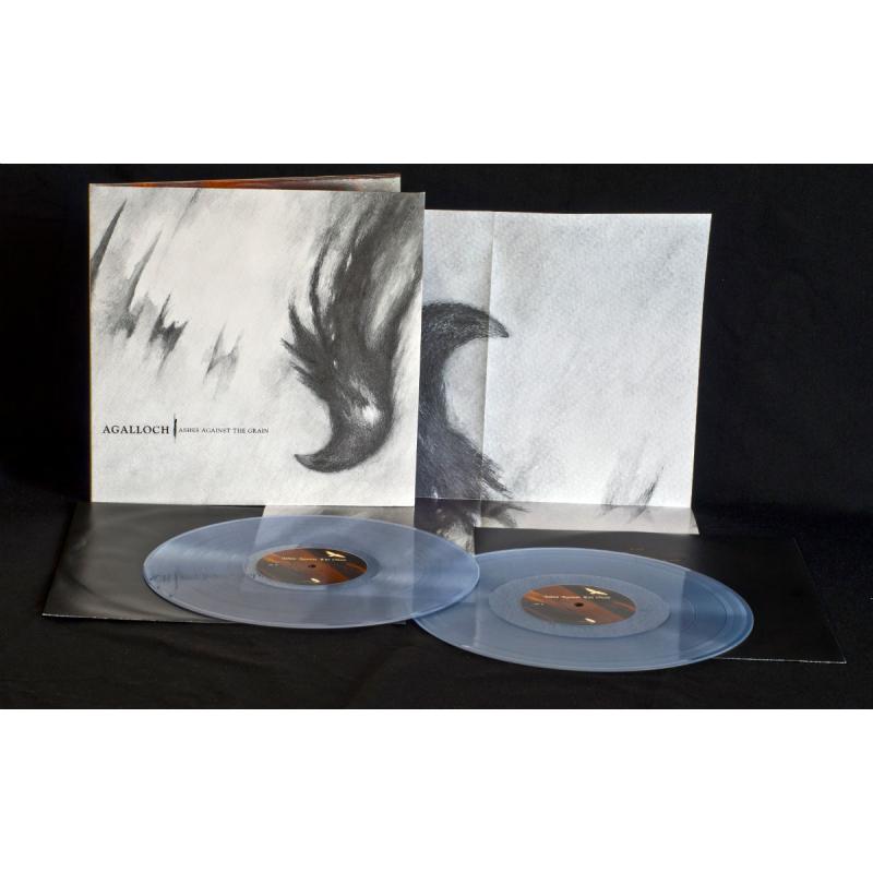 Agalloch - Ashes Against The Grain Vinyl 2-LP Gatefold  |  transparent