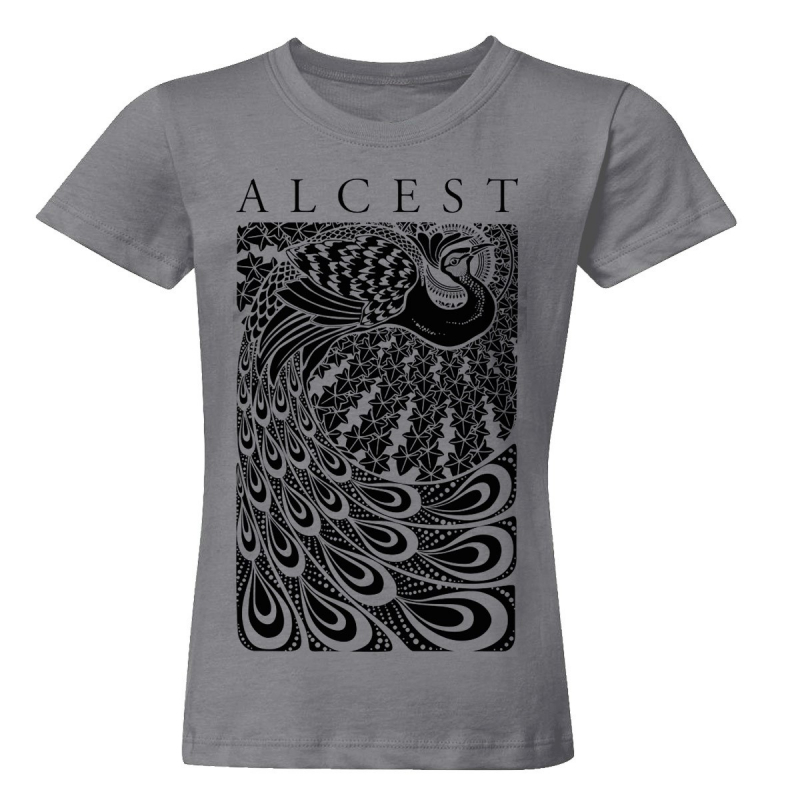 Alcest - Paon T-Shirt  |  M  |  charcoal