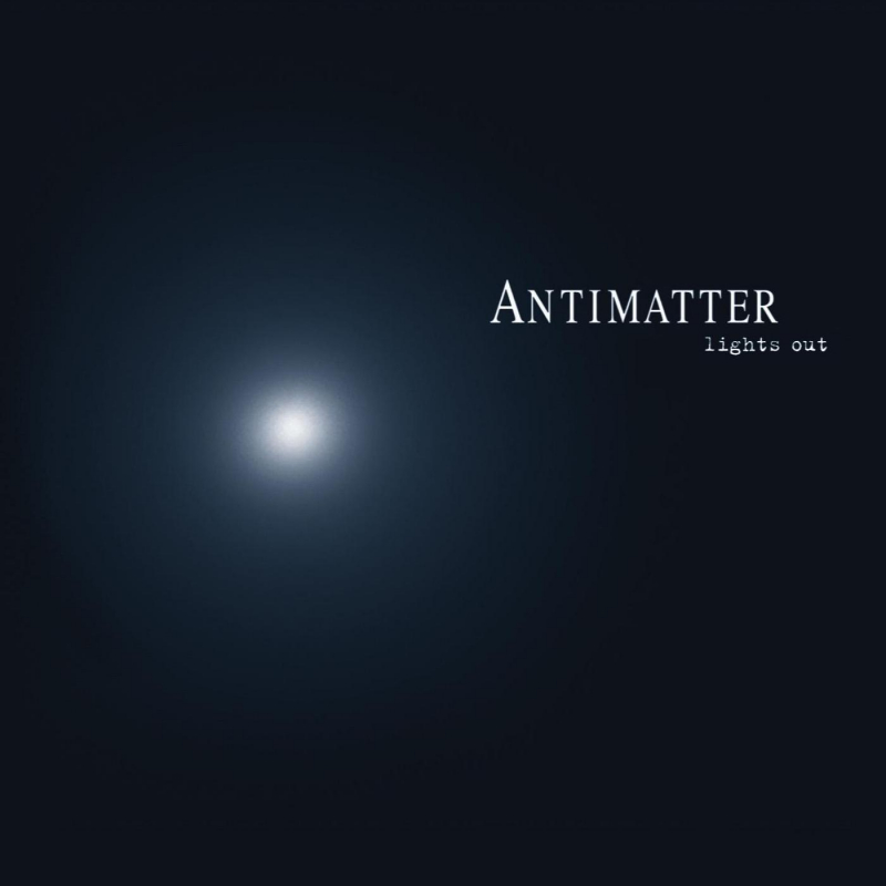 Antimatter - Lights Out Vinyl Gatefold LP     Black