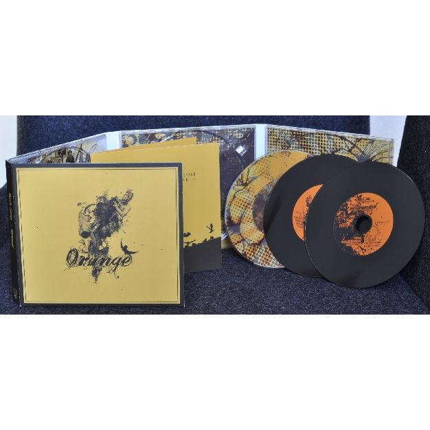 Dark Suns - Orange CD-2+DVD Digipak