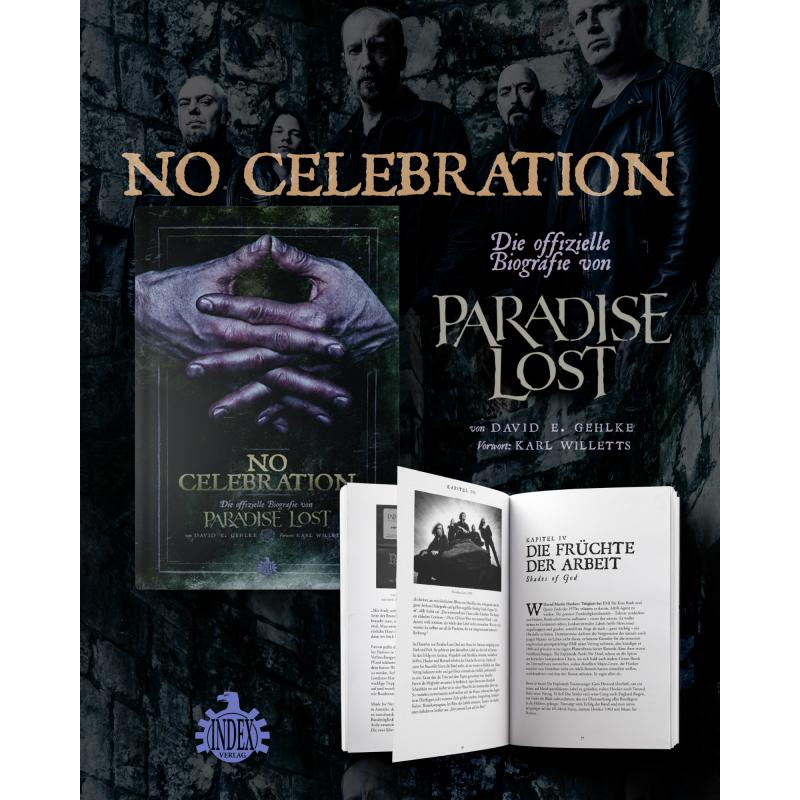 Gehlke, David E. - No Celebration - Die offizielle Biografie von Paradise Lost Book