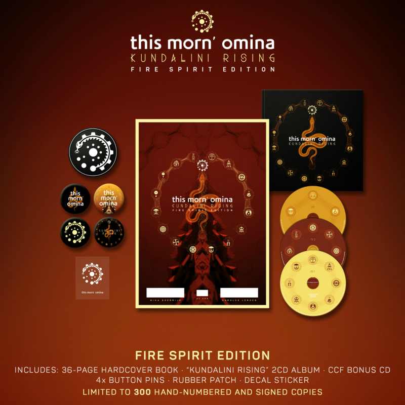 This Morn' Omina - Kundalini Rising - Fire Spirit Edition Box