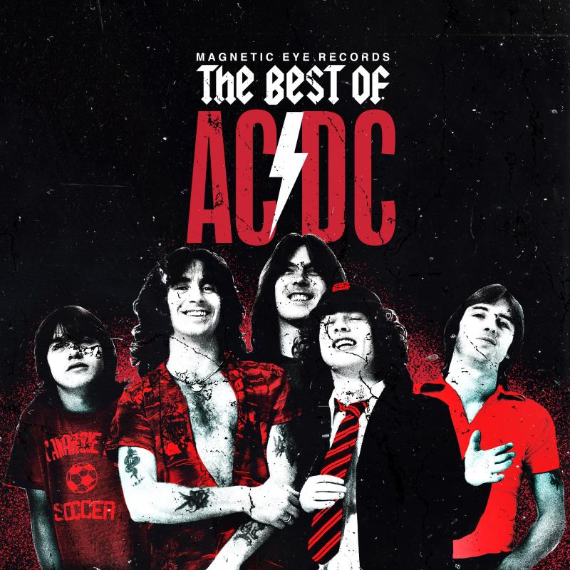 Various Artists - Best of AC/DC (Redux) Vinyl 2-LP Gatefold  |  Marbled Red
