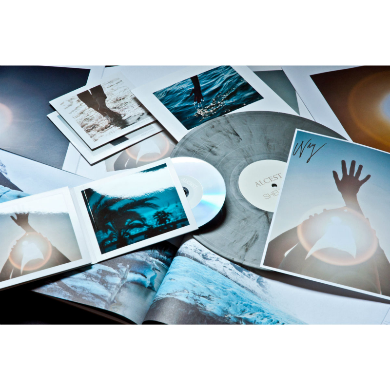 Alcest - Shelter Complete Box     silver-black marble