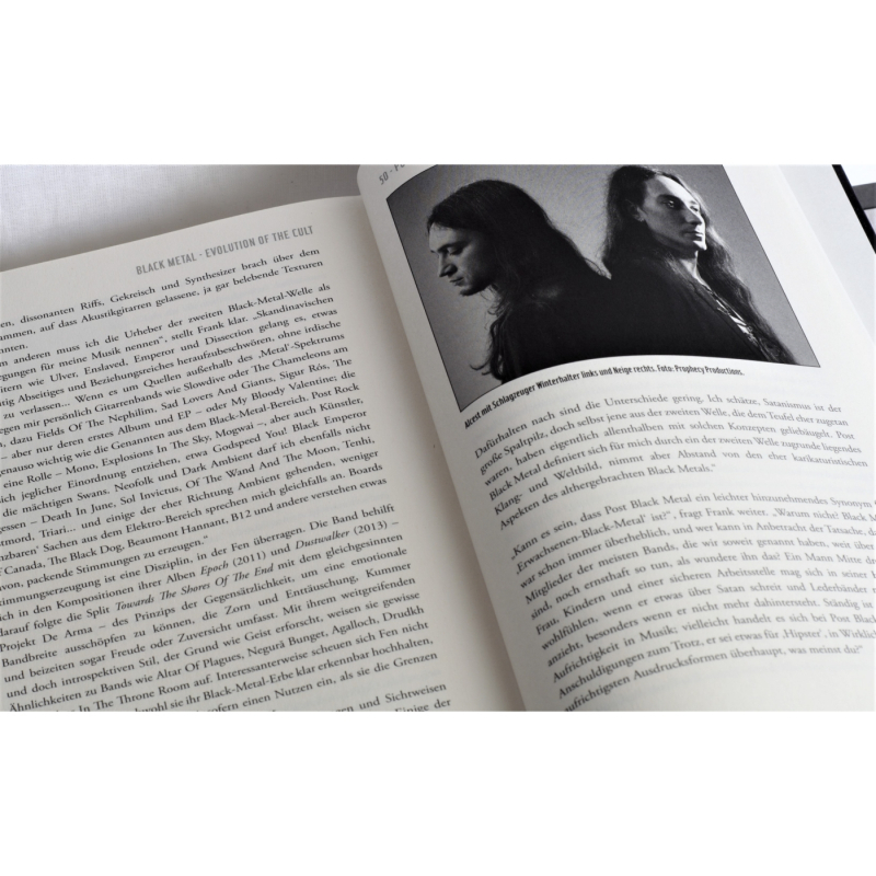 Dayal Patterson - Black Metal - Evolution Of The Cult Book
