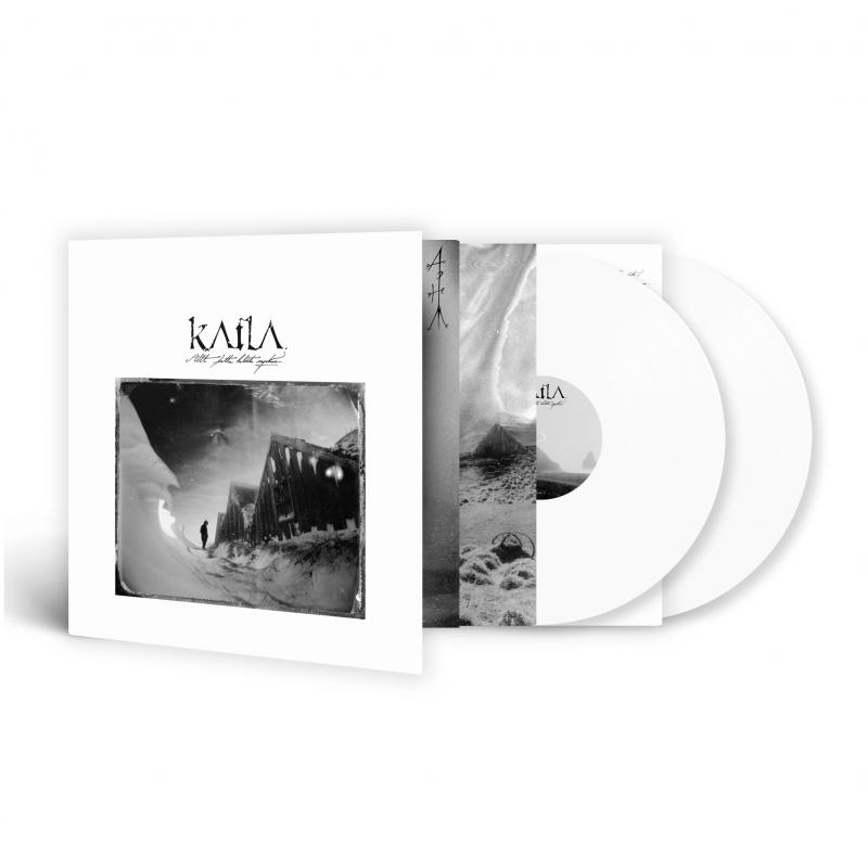 Katla - Allt þetta Helvítis Myrkur Vinyl 2-LP Gatefold  |  White
