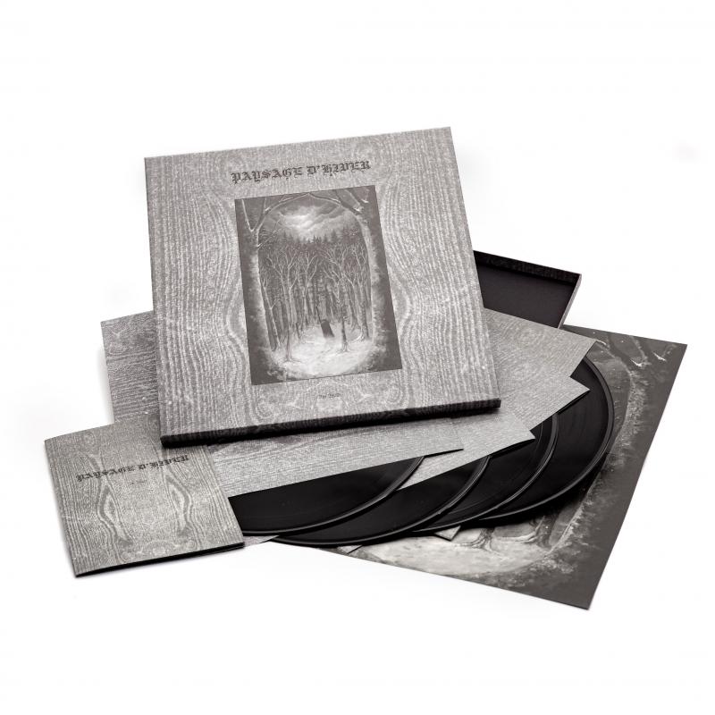 Paysage D'Hiver - Im Wald Vinyl 4-LP Box  |  Black