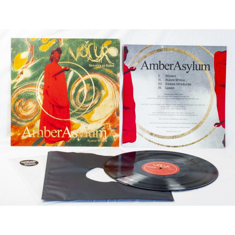 Völur - Breaker Of Rings / Blood Witch (Völur / Amber Asylum) Vinyl LP     Black