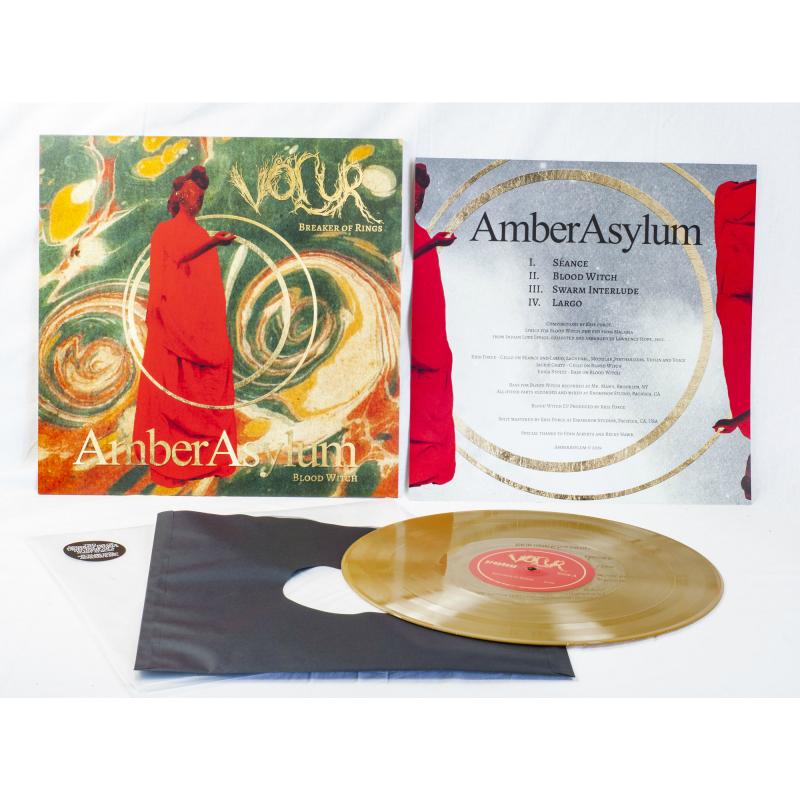 Völur - Breaker Of Rings / Blood Witch (Völur / Amber Asylum) Vinyl LP  |  Gold