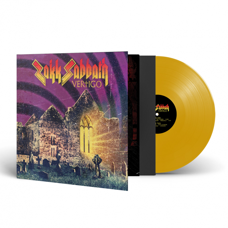 Zakk Sabbath - Vertigo Vinyl Gatefold LP  |  Yellow
