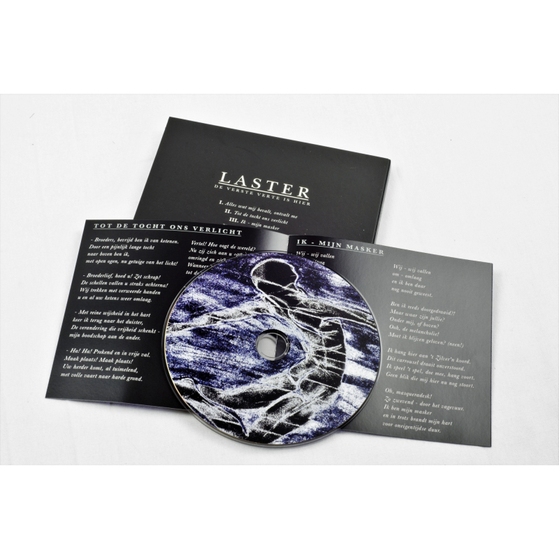 Laster - De verste verte is hier CD Digipak