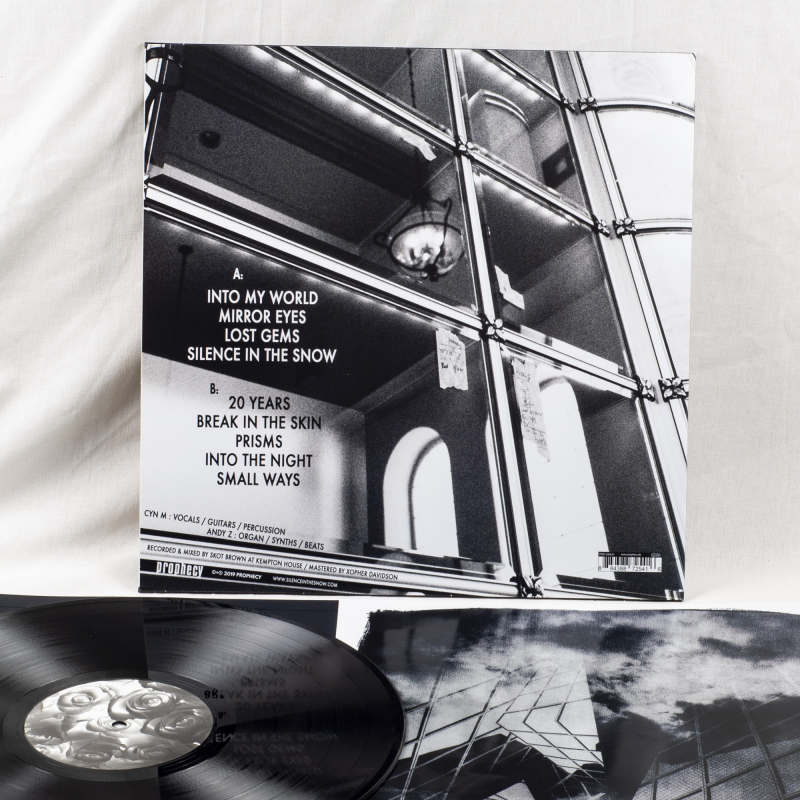 Silence In The Snow - Break In The Skin Vinyl LP  |  Black