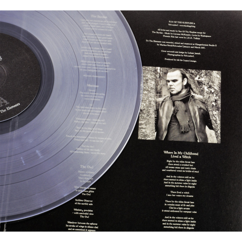 Sun Of The Sleepless - To The Elements Vinyl Gatefold LP  |  clear