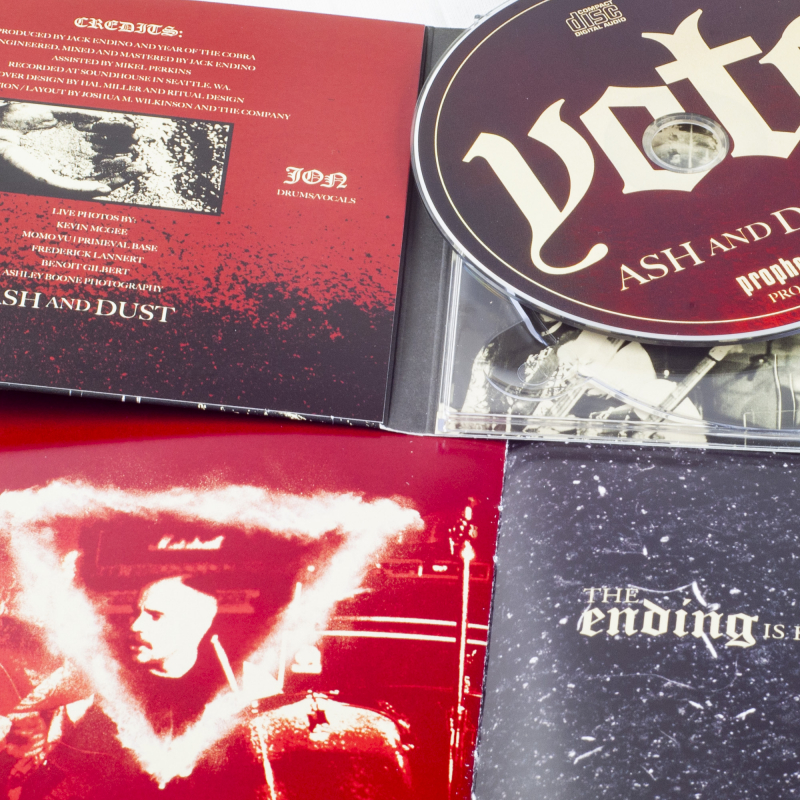 Year Of The Cobra - Ash And Dust CD Digipak