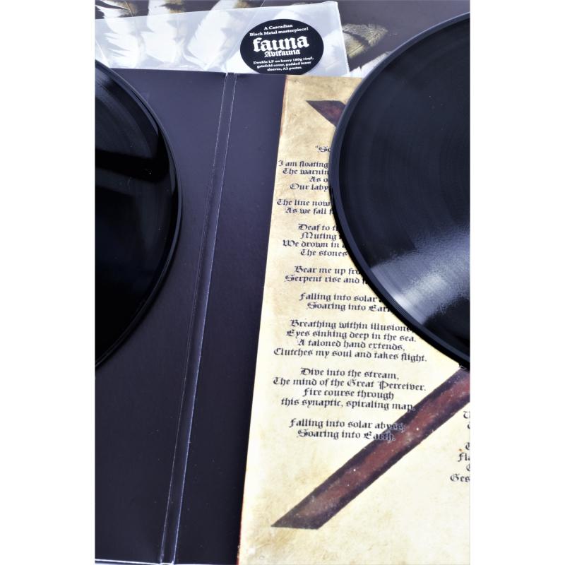 Fauna - Avifauna Vinyl 2-LP Gatefold     Black