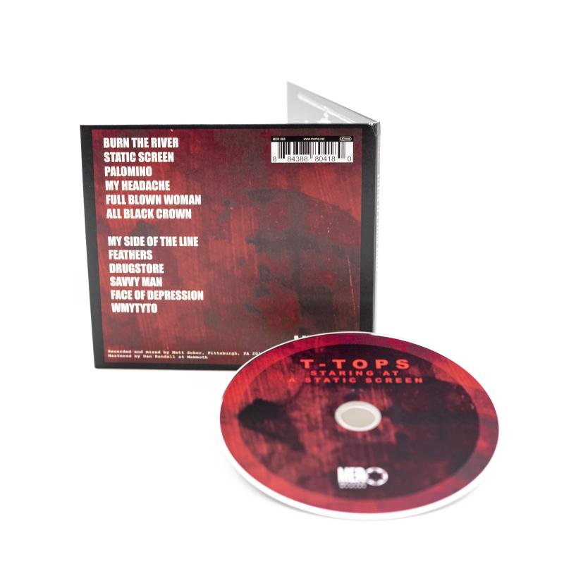 T-Tops - Staring At A Static Screen CD Digisleeve