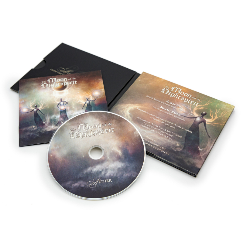 The Moon And The Nightspirit - Aether CD Digipak