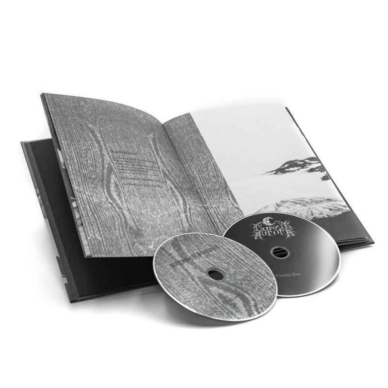 Paysage d'Hiver - Schwarzä Feus & schwarzäs Isä / Lunar Aurora - A Haudiga Fluag Book 2-CD