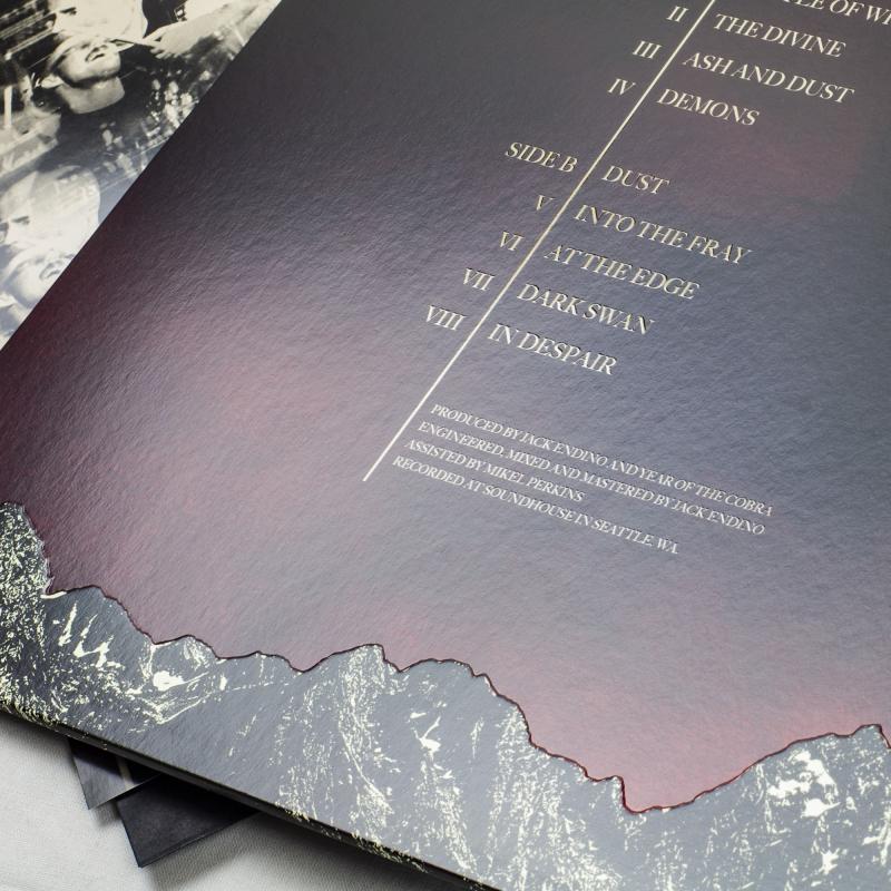 Year Of The Cobra - Ash And Dust Vinyl Gatefold LP     Black
