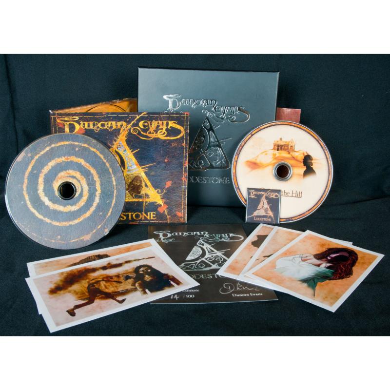 Duncan Evans - Lodestone Vinyl Gatefold LP  |  black