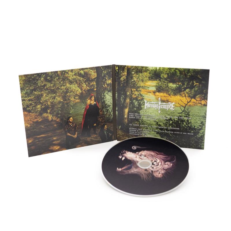 Heavy Temple - Lupi Amoris CD Digisleeve
