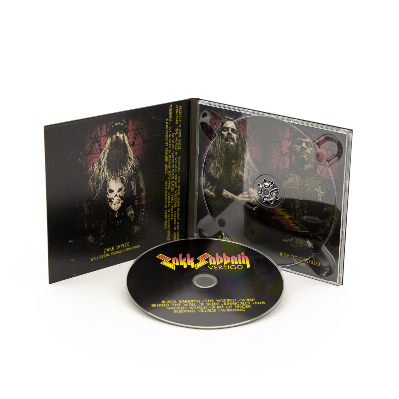Zakk Sabbath - Vertigo CD Digipak